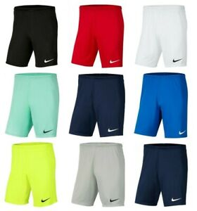 Nike Short Homme Dri-Fit Park III Sports Training Gym Football Court Taille S M L