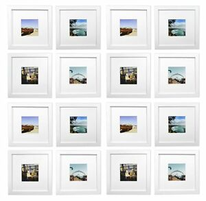Smartphone Frames Collectionset Of 16 8x8 Inch Square Photo Wood