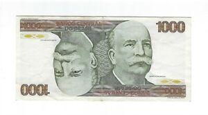 1000 Cruzeiros Brésil 1980 c155/p.197c - Brazil billet cabecao