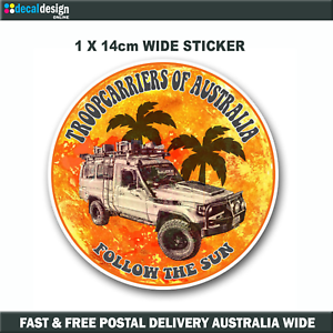 Troopcarriers-of-Australia-70-Series-Official-Group-Sticker-14cm-TOA014