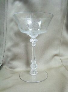 Heisey-ORCHID-Tall-SHERBET-CHAMPAGNE-GOBLET-5025-Blank