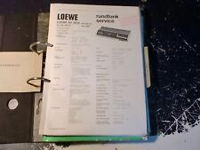 Loewe OPTA RADIO R 130, SD 600 ecc. Service Manual choose 1 piece 1 pezzi scegliere!
