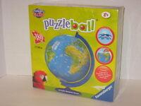 Ravensburger Puzzle Childrens Globe Puzzleball Round W/ Rotation Stand 180