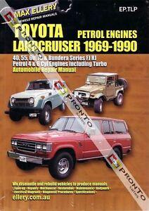 workshop repair manual toyota landcruiser fj rj petrol ebay rh ebay com Custom FJ Cruiser FJ Cruiser Off-Road