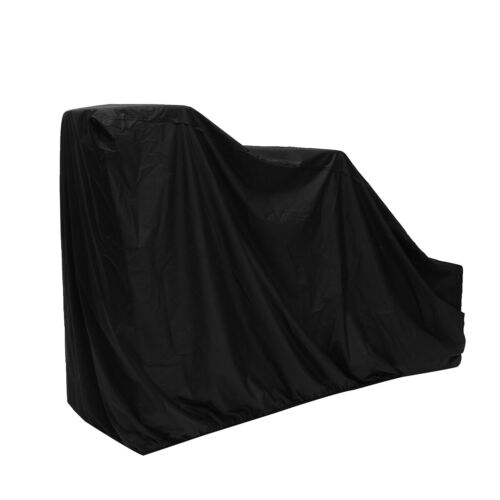 """62/"""" Polyester Protective Anti-UV Waterproof Snow Thrower Snowblower Cover Black"""