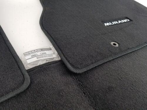 Genuine OEM Nissan 999E2-C3000 Carpet Floor Mats 3pc Set Black 2015-2018 Murano