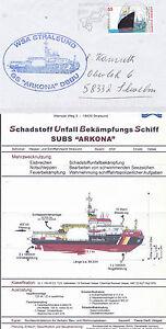 Allemand Multi Usage Navire Ms Arkona Un Des Navires En Cache Cover & Information Sheet