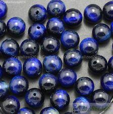 Wholesale Natural Gemstone Round Spacer Beads 6mm Lapis Crystal Quartz Turquoise