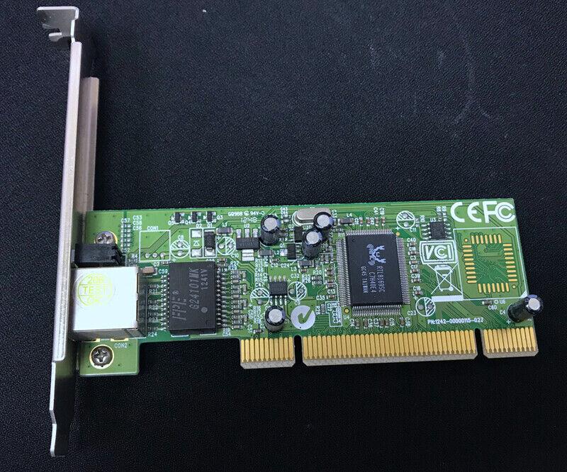 Realtek RTL8169SC 10/100/1000 Mbit/sec PCI Network card LGY-PCI-GT