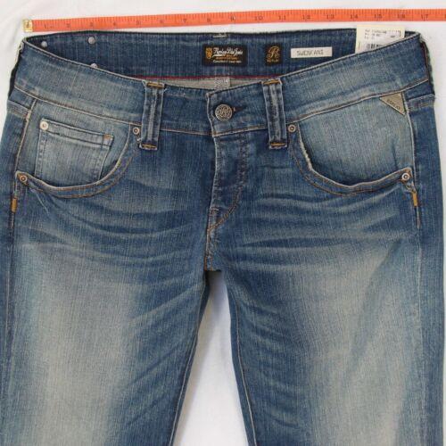 Jeans L34 Womens Bnwt 12 Replay New Size Wv531 W32 Blue Bootcut Swenfani Stretch z0BvBdqw
