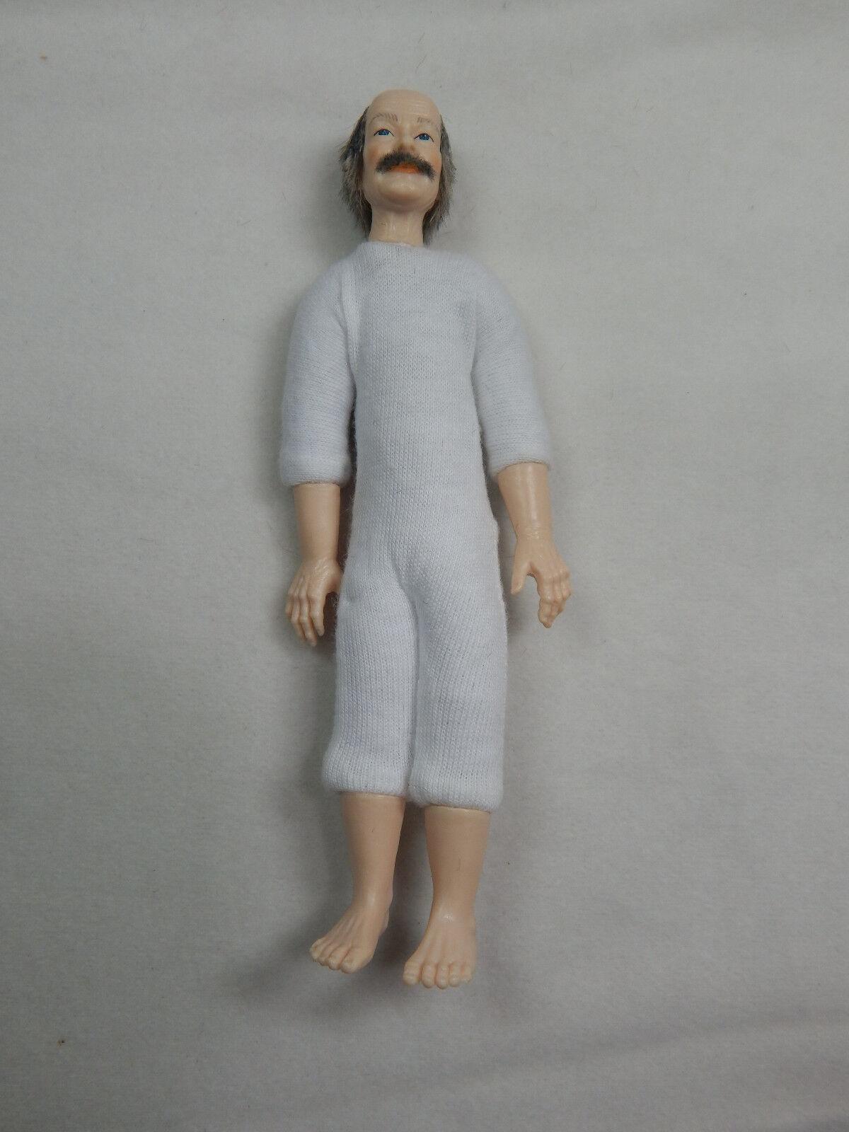 Heidi Ott Casa de Muñecas en Miniatura 6  Desnudo Hombre masculina de Adultos con ojos azules cabello  XKM06