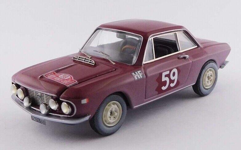 BEST MODEL BES9739 - Lancia Fulvia Coupé 1200 HF 5ème rallye Monte Carlo 66 1 43
