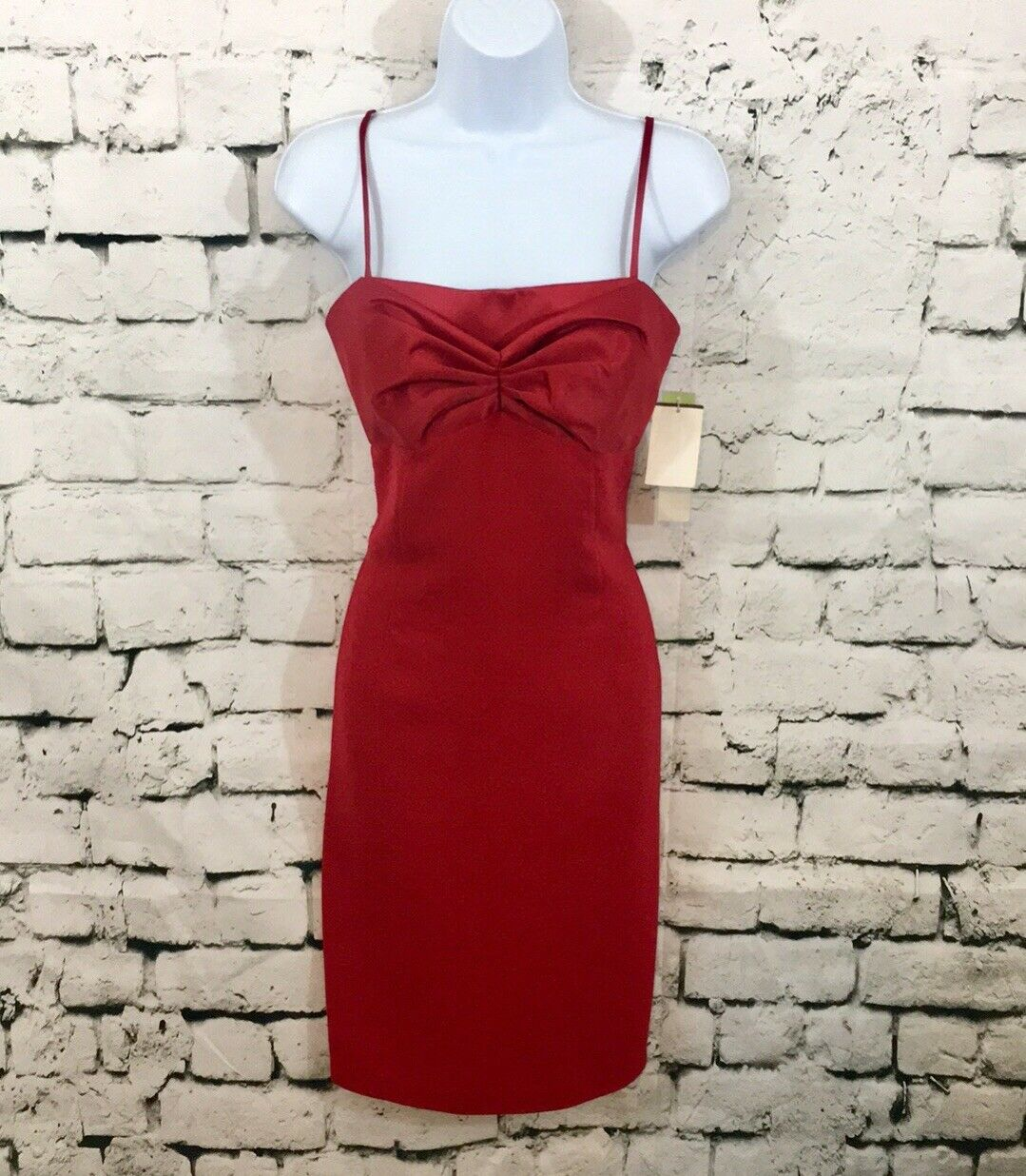 Maggy London NWT Größe 4 rot Holiday Dress New With Tags