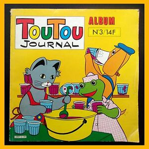 TOUTOU-JOURNAL-Album-N-3-Editions-Greantori-1981