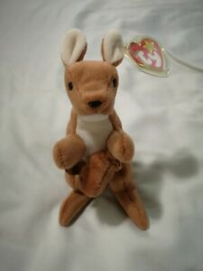 RARE-POUCH-Ty-Beanie-Baby-1996-MINT-CONDITION-RETIRED
