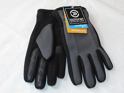Clever Isotoner Unterschrift Herren Thermaflex Smartouch Tech Stretch-handschuhe Grade Produkte Nach QualitäT