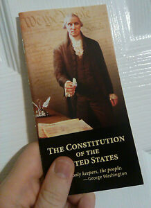 POCKET-CONSTITUTION-UNITED-STATES-amp-DECLARATION-OF-INDEPENDENCE-NEW-RON-PAUL-USA