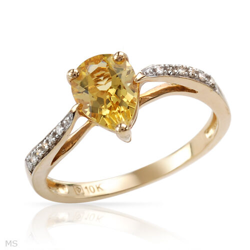 Gorgeous Ring With 1.11ctw Precious Stones