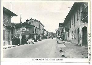 07142-CARTOLINA-d-039-Epoca-TORINO-CAVAGNOLO-BENZINAIO