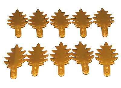 Lego Olive Green Leaf Leaves 4 x 3 Plant Tree Lot of 12  #6268815 New Moc