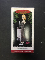 1995 Hallmark Keepsake Barbie Ornament solo In The Spotlight 2 In Series