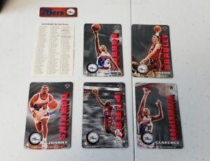1994-Pro-Mags-Basketball-Team-Set-Philadelphia-76ers-WITH-team-Magnet