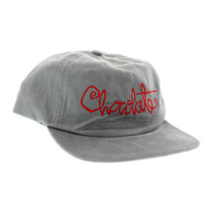 392a83d239d Image is loading Chocolate-Skateboards-Clothing-Script-Cord-Snapback-Cap-Hat -