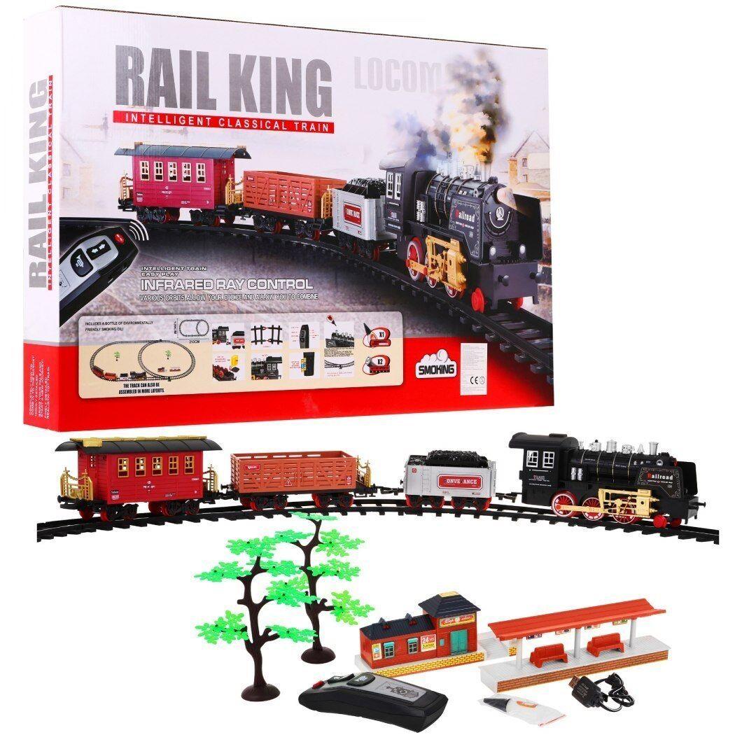 Modelleisenbahn Elektrische Zug Eisenbahnzug Eisenbahn 3 Waggons 213x120cm RAUCH RAUCH RAUCH 6dcad5
