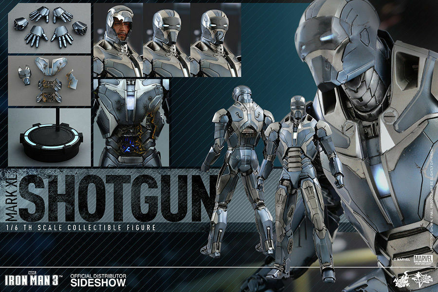 Iron Man Mark XL – Shotgun Sixth Scale Figure by Hot Toys - Sealed Box