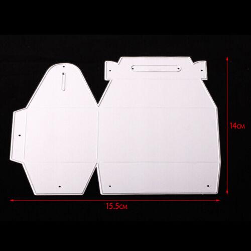 Gift Box Metal Cutting Dies DIY Embossing Paper Scrapbooking Card Craft PSZY