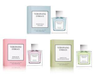 3-PACK Vera Wang Embrace Perfume Bundle Green Tea Rose Periwinkle, 1 oz. ea (3.0