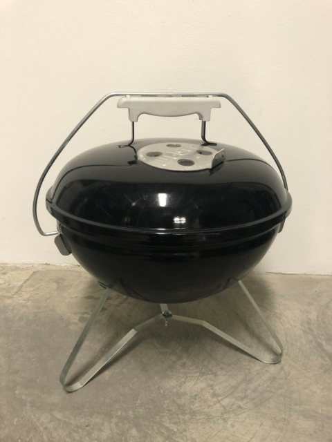 Kuglegrill, Weber, Ubrugt, sort Smokey Joe Kulgrill fra…