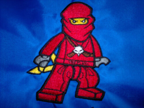 Kids Embroidered Ninjago T-Shirt 18 Colours 3-4 years to 14-15 years