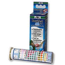 Jbl Easy Test 6 en 1 Test de Agua Acuario precisa - 50 tiras de prueba Kit
