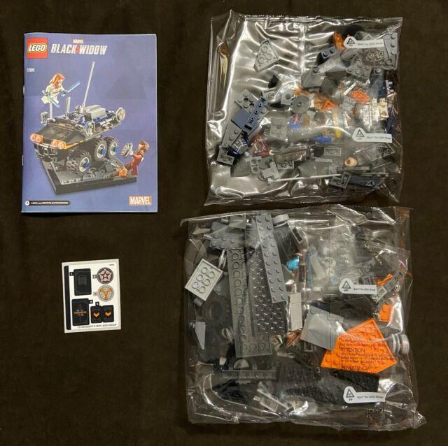 LEGO Marvel Black Window Taskmaster's Ambush 77905 SDCC Exclusive DAMAGED BOX