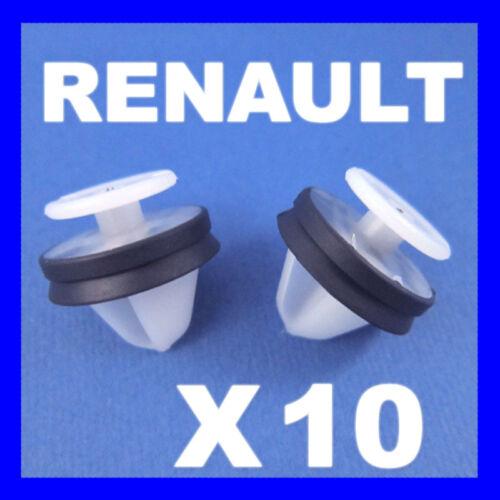 RENAULT CLIO 2 /& 3 KANGOO INTERIOR DOOR PANEL CARD PILLAR  TRIM CLIPS