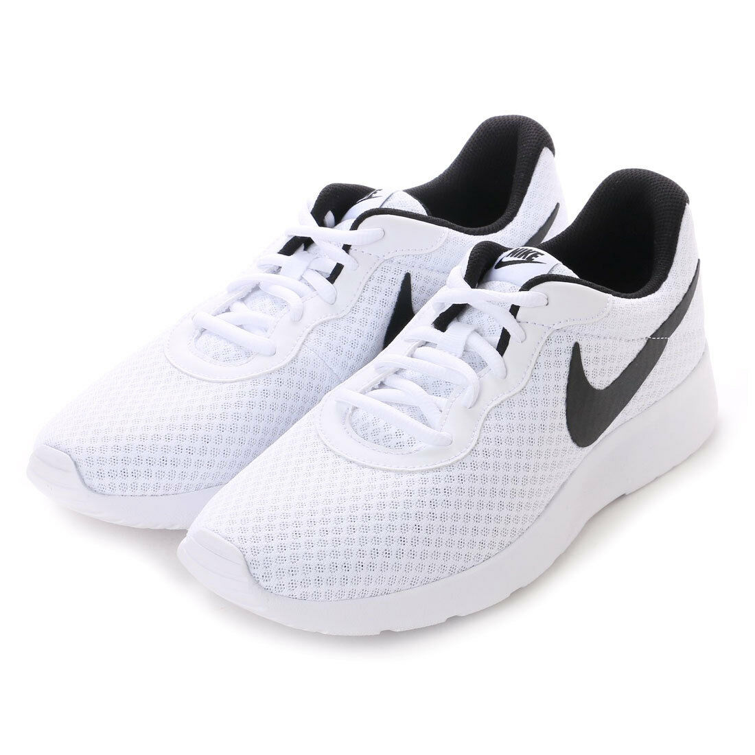 Nike Tanjun White Black For Men's Running shoes New In Box 812654-101