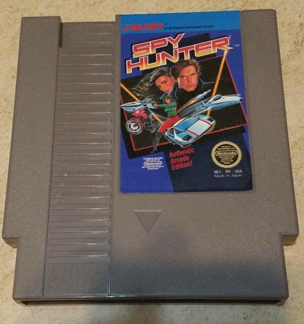 Spy Hunter -- Classic NES Nintendo Original Game CLEAN TESTED GUARANTEED