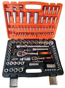 Métricas de extremo doble extra largo juego de llaves de carraca flexible 8mm-1
