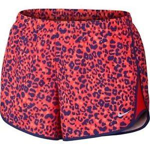 Nike Dri-FIT Lotus Mod Tempo Printed Women s Running Shorts  45 ... b1a09782ea46b