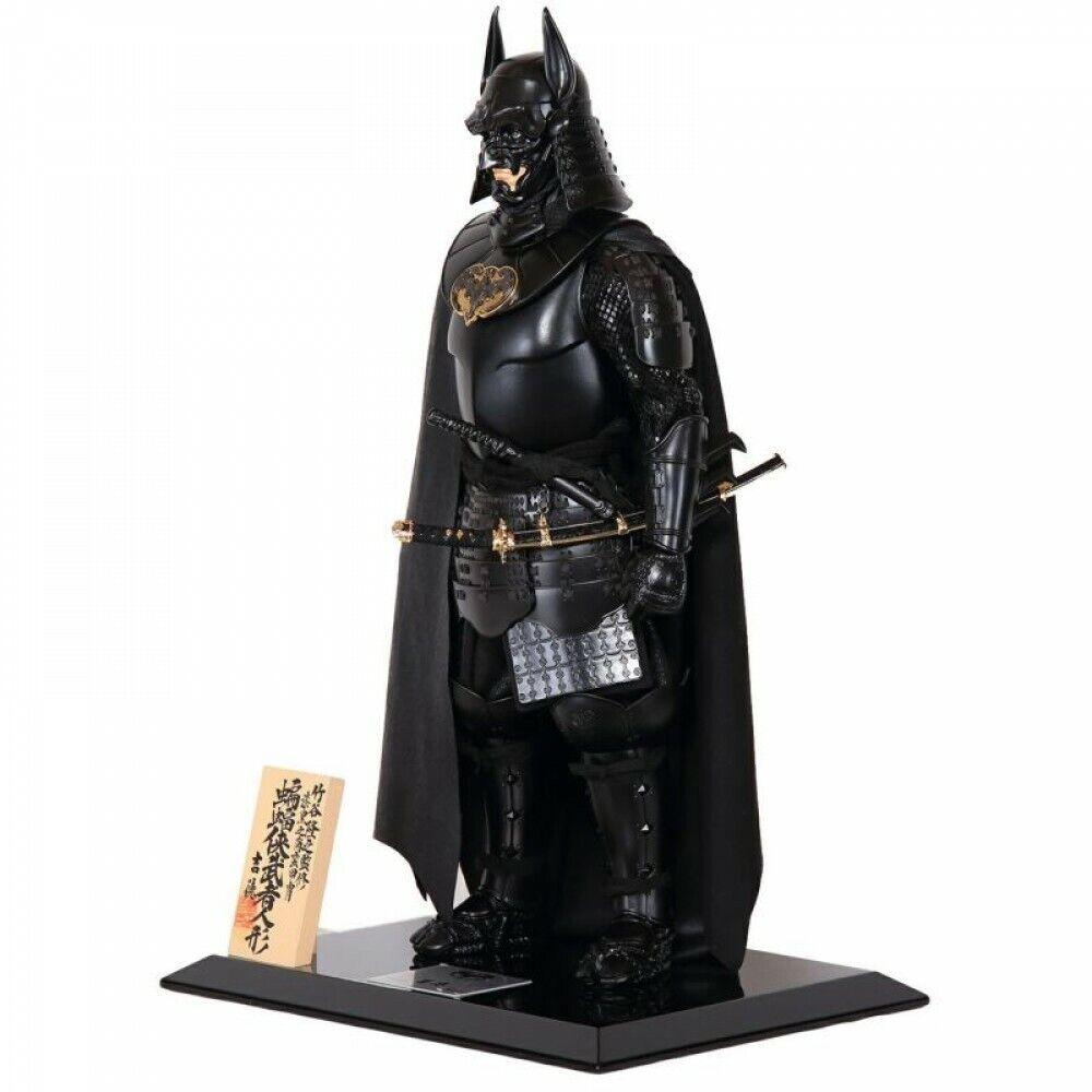 Batman JP exclusiva muñeca Guerrero Samurai hecha a mano Kabuto Yoroi Takayuki japonesa