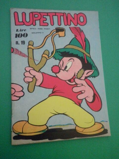 Fumetto LUPETTINO -1973- ed.GIOGGI - N 19
