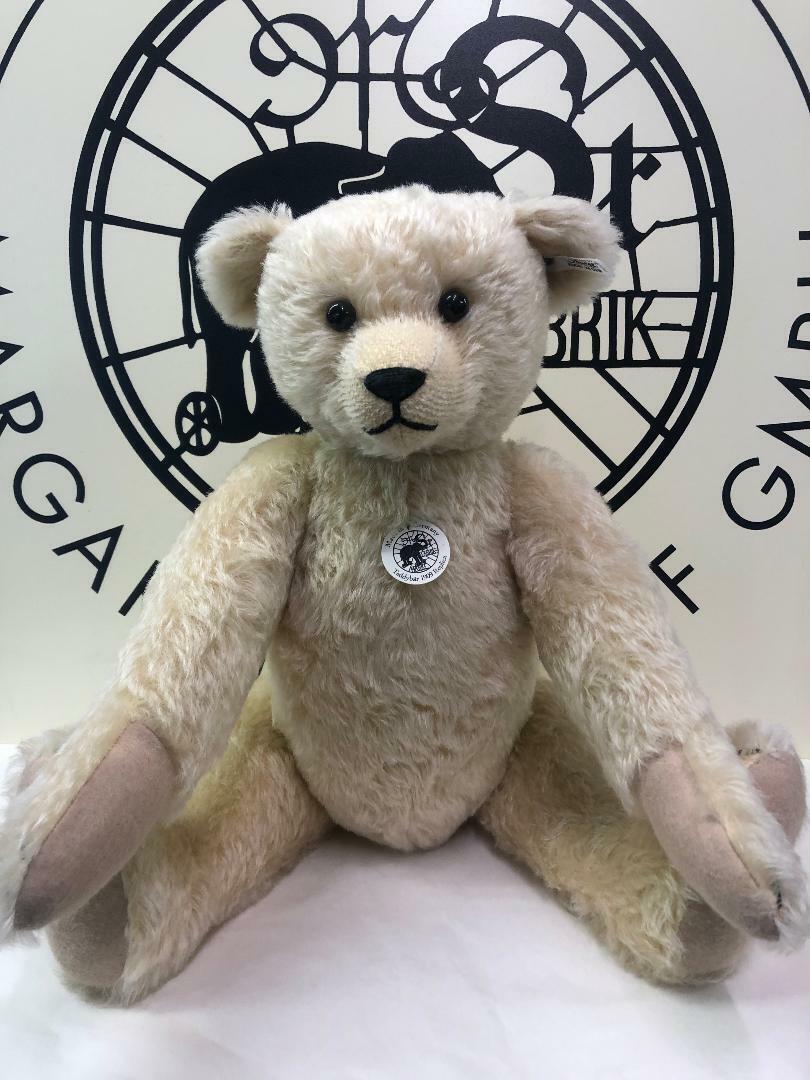 Steiff EAN 400520 Margarete'S Teddy 1909 REPLICA Mohair Ltd