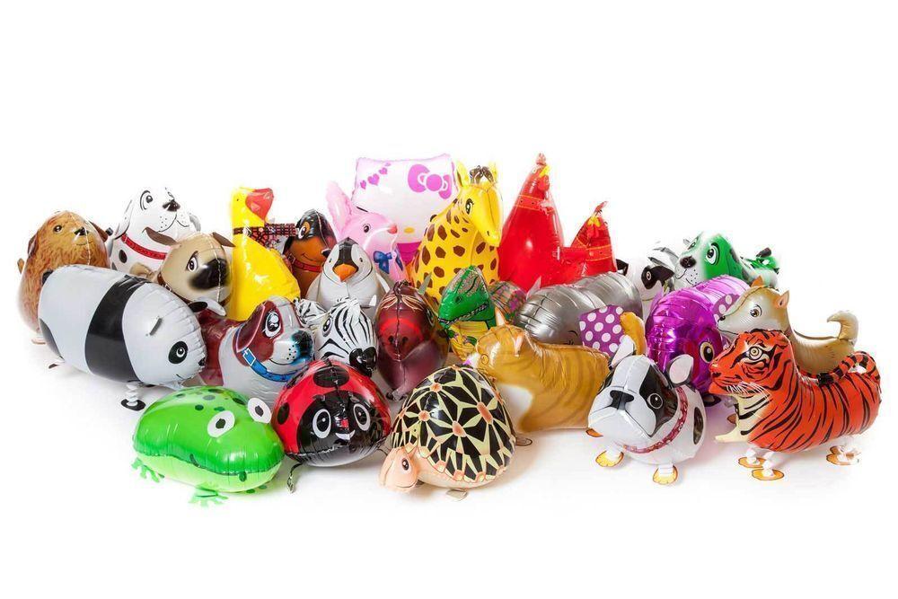 New mixed Walking Animal Balloons,Airwalker, Foil, Birthday ,Party balloon,