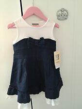 Mayoral Girls Jeans Summer Dress 4 Years 104cm Brand New with Tags