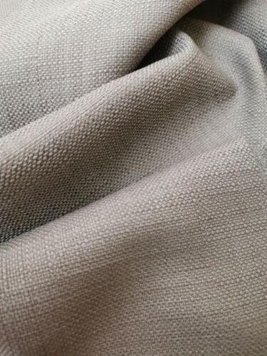 Tejido Liso Lino Aspecto Cojín De Tapicería De Cortina de ancho doble material de costura