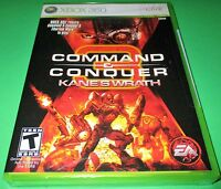 Command & Conquer: Kane's Wrath Xbox 360 Factory Sealed Free Shipping