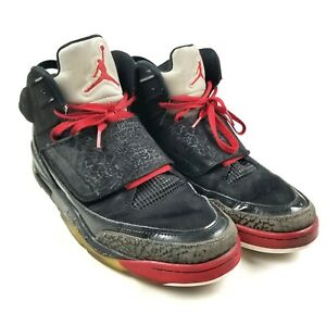 premium selection 5ead5 9bfc1 Image is loading Nike-Air-Jordan-Son-Of-Mars-Black-Red-