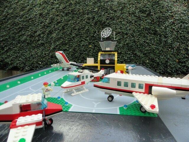 Lego 6392 Flughafen Airport + 2 Flugzeuge mit Anleitung ohne OVP