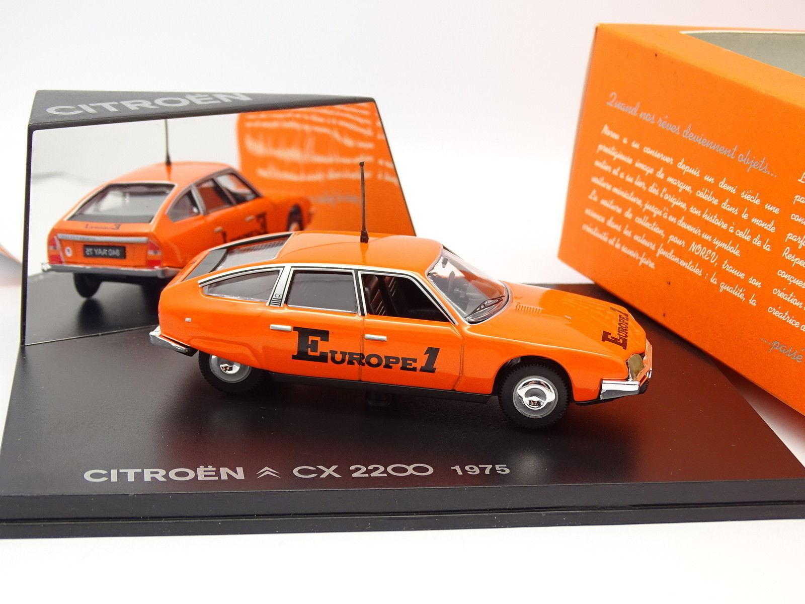 Norev 1 43 - CITROEN CX 2200 1975-Europe 1-Tour de France